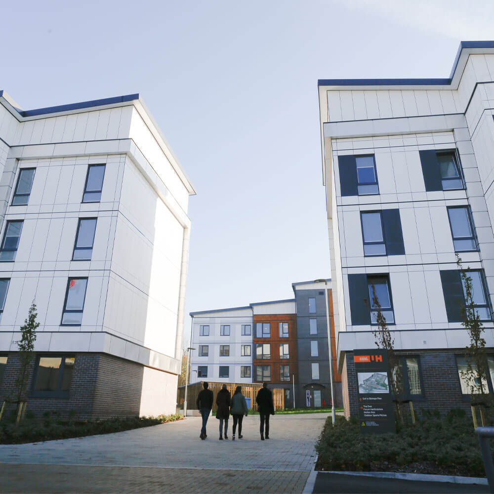 University of Hertfordshire Student accommodation